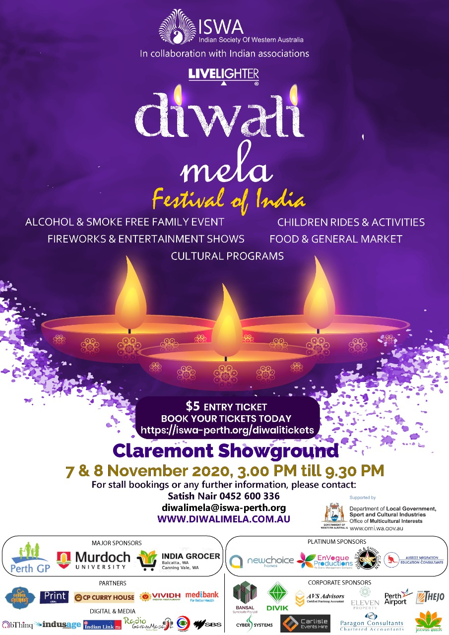 Diwali Mela 2020 – Festival of India