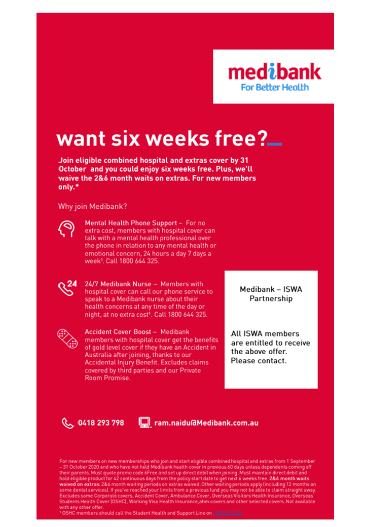 Promotions from Medibank