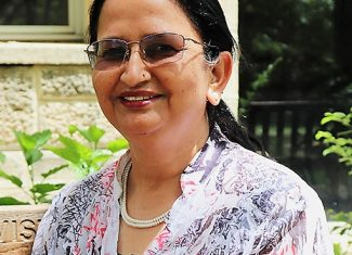 Finding her place in the universe – an article about Renu Sharma